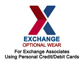 Exchange | Optional Wear - For exchange associates using personal credit / debit cards.
