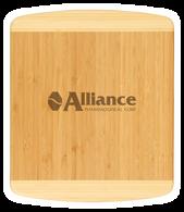 """CTB220 - 13 1/2"""" x 11 1/2"""" Bamboo 2-Tone Cutting Board"""