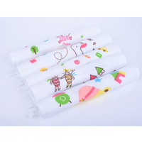 Autumnz - Baby Washcloths, Mixed Designs (5pcs/pack)