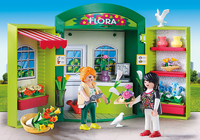Playmobil - Flower Shop Play Box Building Kit