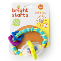 Bright Starts - Grab and Spin Rattle