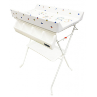 Lucky Baby - Litto Bath Unit With Changing Table,40 x 61 x 103cm  (702185)