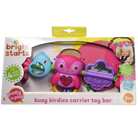 Bright Starts - Busy Birdies Carrier Toy Bar