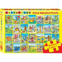 Letterland - Giant Alphabet Puzzle (28 Pieces)