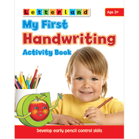 Letterland -  My First Handwriting Activity Book