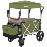 Keenz - 7S Stroller Wagon, Cedar Green/Earl Grey