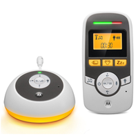 Motorola - Digital Audio Baby Monitor With Baby Care Timer , MBP161TIMER