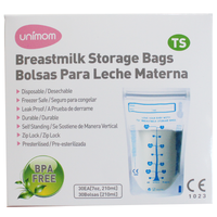 Unimom - Breastmilk Storage Bags TS (Thermo Sensor) 30s