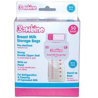 Bambino - Milk Bag BPA Free, 50 Bags