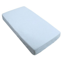 Bebe Bamboo - Bamboo Fitted Sheet, Baby Blue
