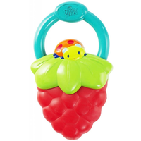 Bright Starts - Fruit Vibes Teether, Strawberry (0m+)