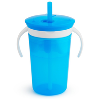Munchkin - 2-in-1 Snack Catcher and Sip Cup, 2 Colours