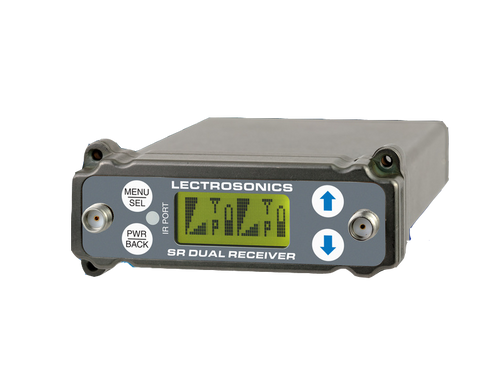 Lectrosonics SRC Wideband Dual Channel Slot Receiver A1 (470.100 - 537.575 MHz Blocks 470, 19, and 20)