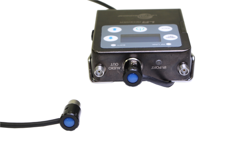 """Cable Techniques 18"""" Low-Profile Lectrosonics LR TA3F out to TA3F for SD 6-Series"""