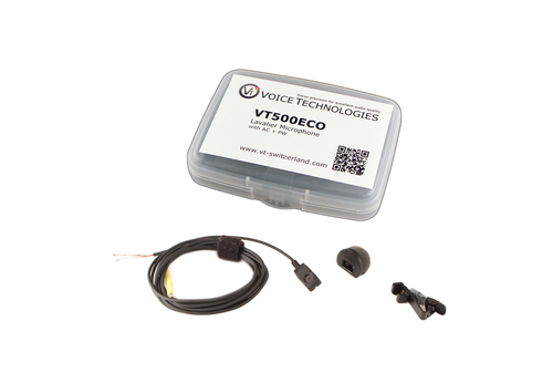 Voice Technologies VT500-ECO Miniature Omni Lavalier - Unterminated (3-Wire Pigtail)