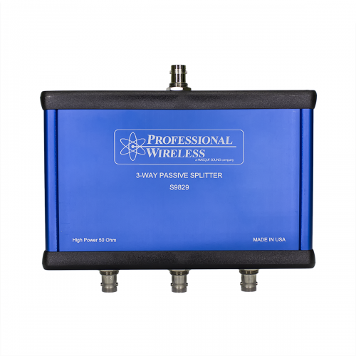 Professional Wireless 3 Way High Power Splitter/Combiner, BNC