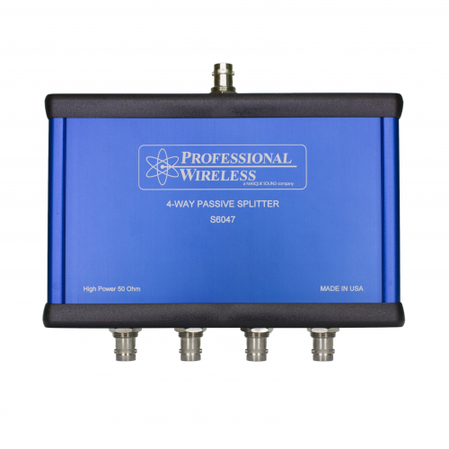 Professional Wirless 4 Way High Power Splitter/Combiner, BNC