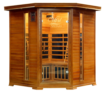 Vital Sauna Elite Corner Full Spectrum 240V