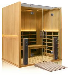 Clearlight Retreat ADA Sauna Basswood