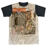 Mens Aerosmith Toys in the Attic Sublimation Tee Shirt