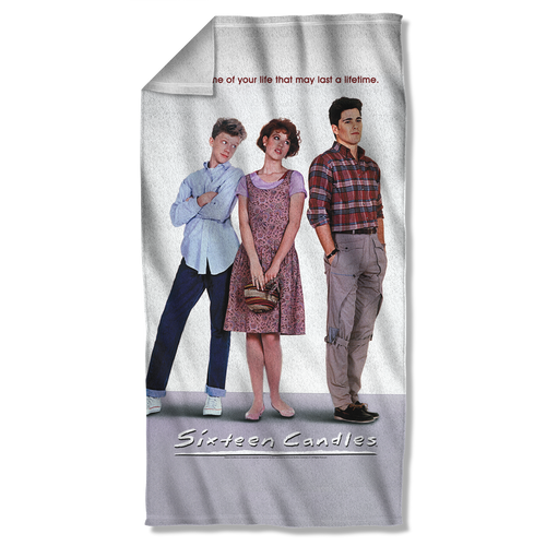 Sixteen Candles Poster Fleece Blanket
