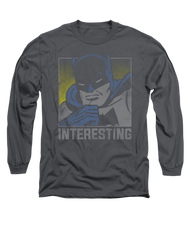 Mens Batman Interesting Long Sleeve Tee Shirt