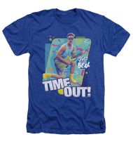 Saved by The Bell Time Out Vintage Heather Adult Tee Shirt
