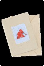 African Greeting Card - Elephant Design