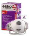 Esko Breathe Easy Disposable Valved Dust / Mist Respirator Masks P1 Rated