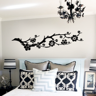 Asian Blossom Branch Wall Decal