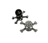 Vivienne Westwood Diamante Skull Cufflinks