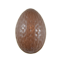 12 cm Basket Weave Egg - Mould #102