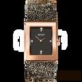 Seksy By Sekonda Crystal Rocks Gold Swarovski Strap Watch Black Dial 2653