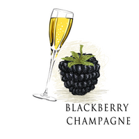 American Eliquid Store Blackberry Champagne Eliquid