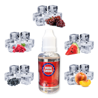 Chill Line DuraSmoke eLiquid Sampler Pack - Blueberry Chill eLiquid, Raspberry Chill eLiquid, Grape Chill eLiquid, Watermelon Chill eLiquid, Peach Chill eLiquid