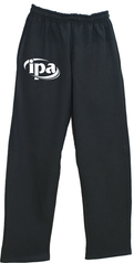 IPA Black Sweatpants