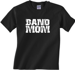 Band Mom Black T-Shirt