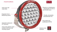Big Red High Power LED Features