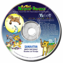Fun Time Nursery Rhymes Personalized Kids Music CD