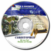I'm a Soldier Personalized Kids Music CD