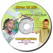 River of Life Personalized Kids Music CD