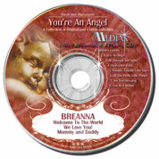 You're An Angel Personalized Kids Music CD