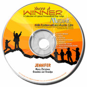 You're a Winner Personalized Kids Music CD