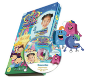 ABC Monsters Photo Personalized DVD Girl version