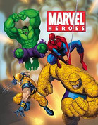 Personalized Marvel Heroes Book