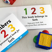 First Steps Numbers Board Book for Toddlers
