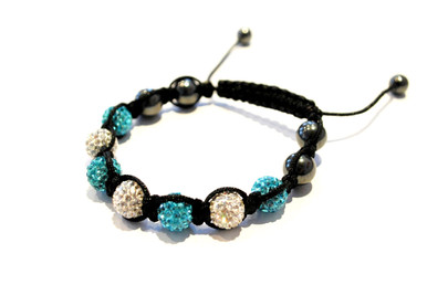 Glitterball bracelet