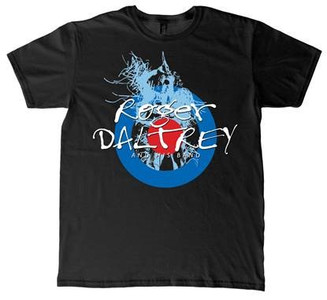 Roger Daltrey at the Royal Albert Hall Event T-Shirt - Black