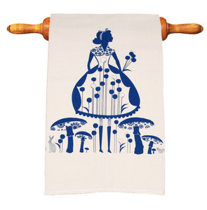 Precious Tea Towel in Wonderful Alice Tea Party
