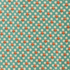 Green rust twinkle twist geometric small dot print fabric